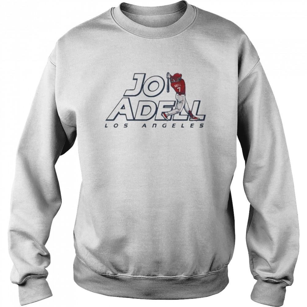 2021 Los Angeles Jo Adell shirt Unisex Sweatshirt