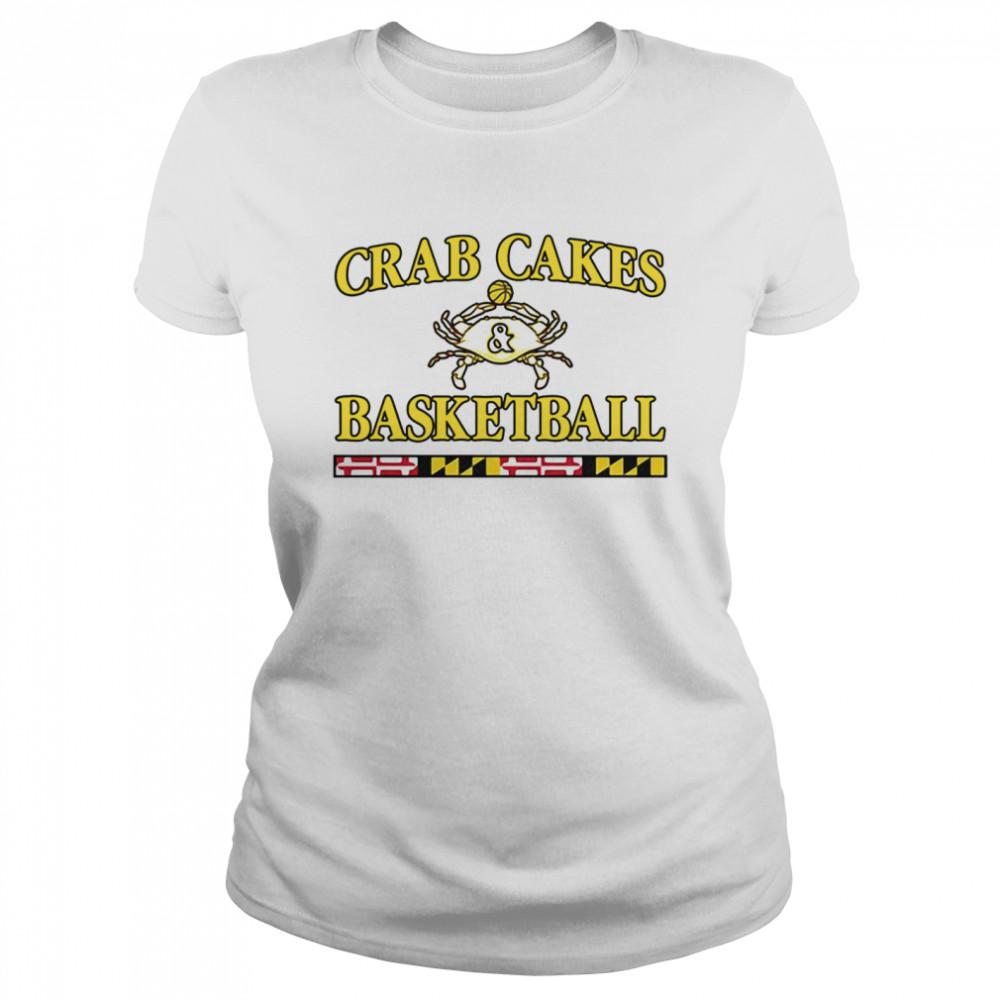 Crab Cakes And Basketball shirt Classic Women's T-shirt
