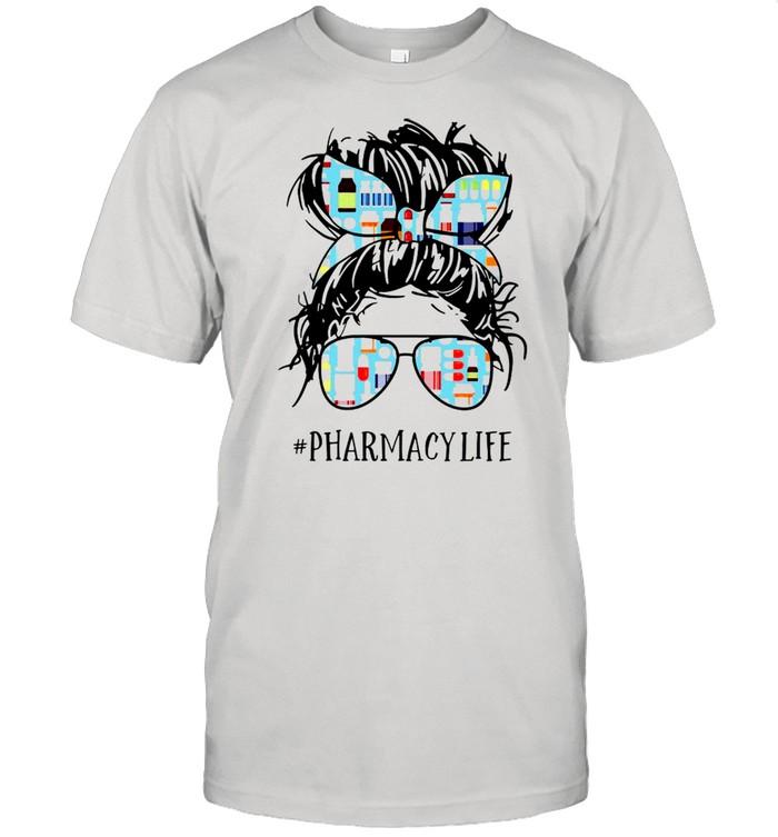 Skull Sugar Pharmacy Technician Pharmacy Life shirt