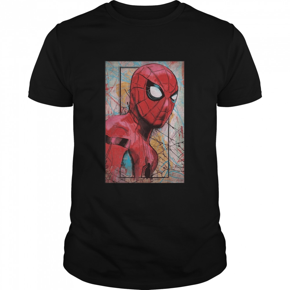 Marvel Spider-Man Far From Home Poster T-shirt