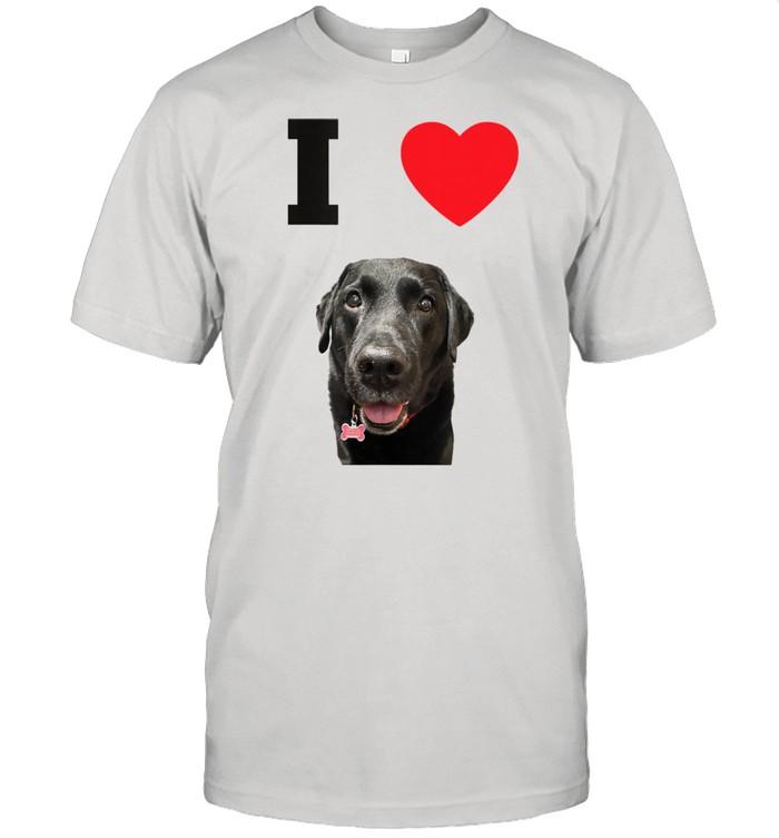 I Heart Lab Dog Puppy Shirt
