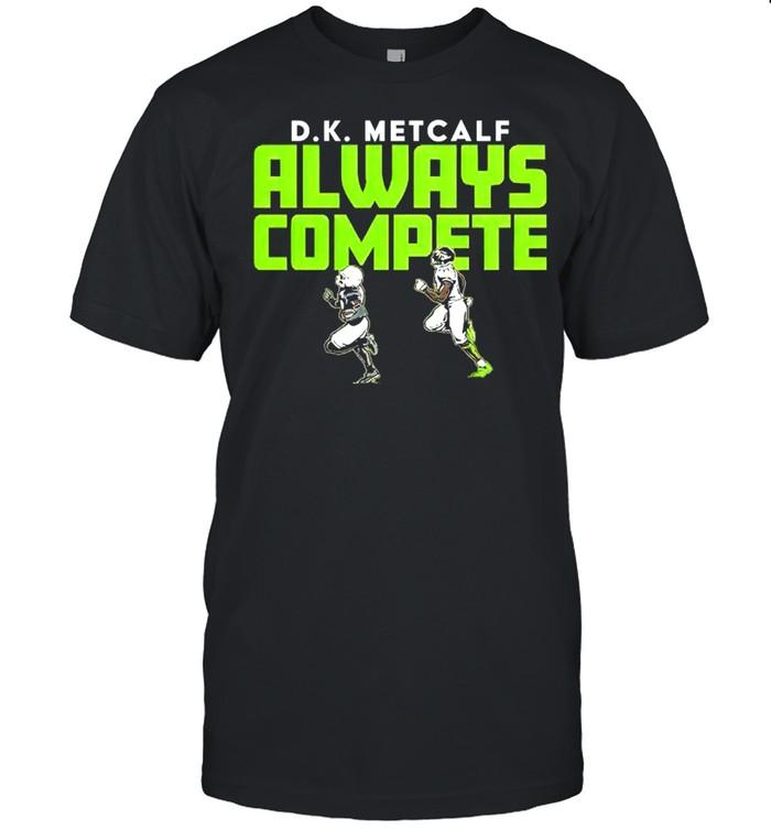 DK Metcalf Always Compete shirt