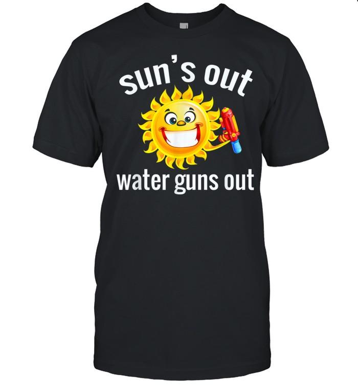 Summer Squirt Gun Design shirt