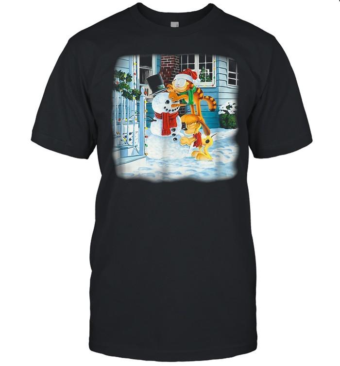 Garfield Snow Fun T-shirt