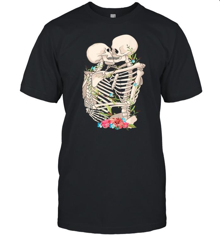 Scary Kissing Skeletons shirt
