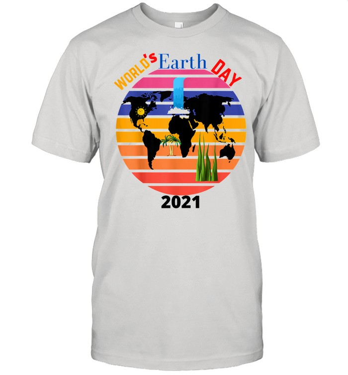 World's Earth's Day 2021 vintage Shirt