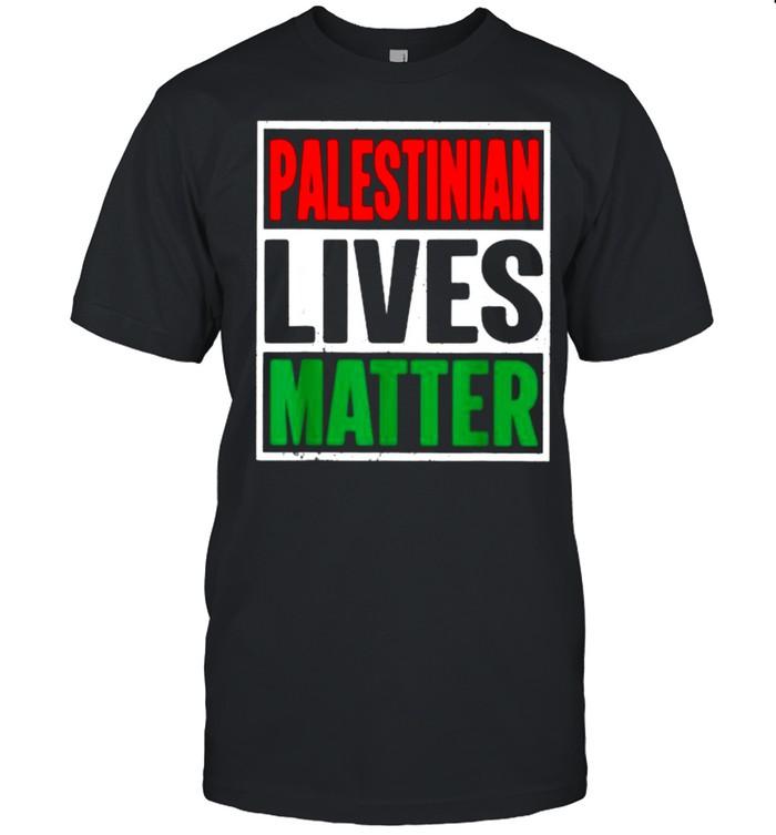 Palestinian Lives Matter Free Palestine Flag Shirt