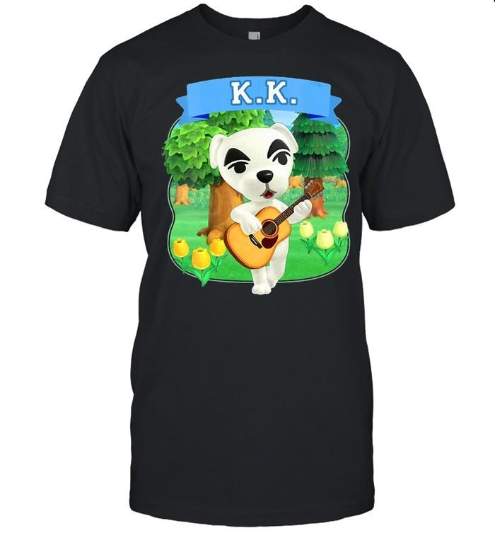 Womens Animal Crossing New Horizons K.K. Slider Island Portrait Shirt