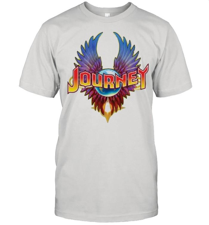 Journey Rock band music logo shirt