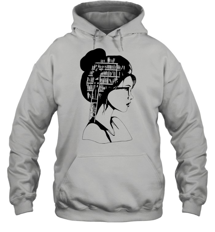A girl who loves books Classic shirt Unisex Hoodie