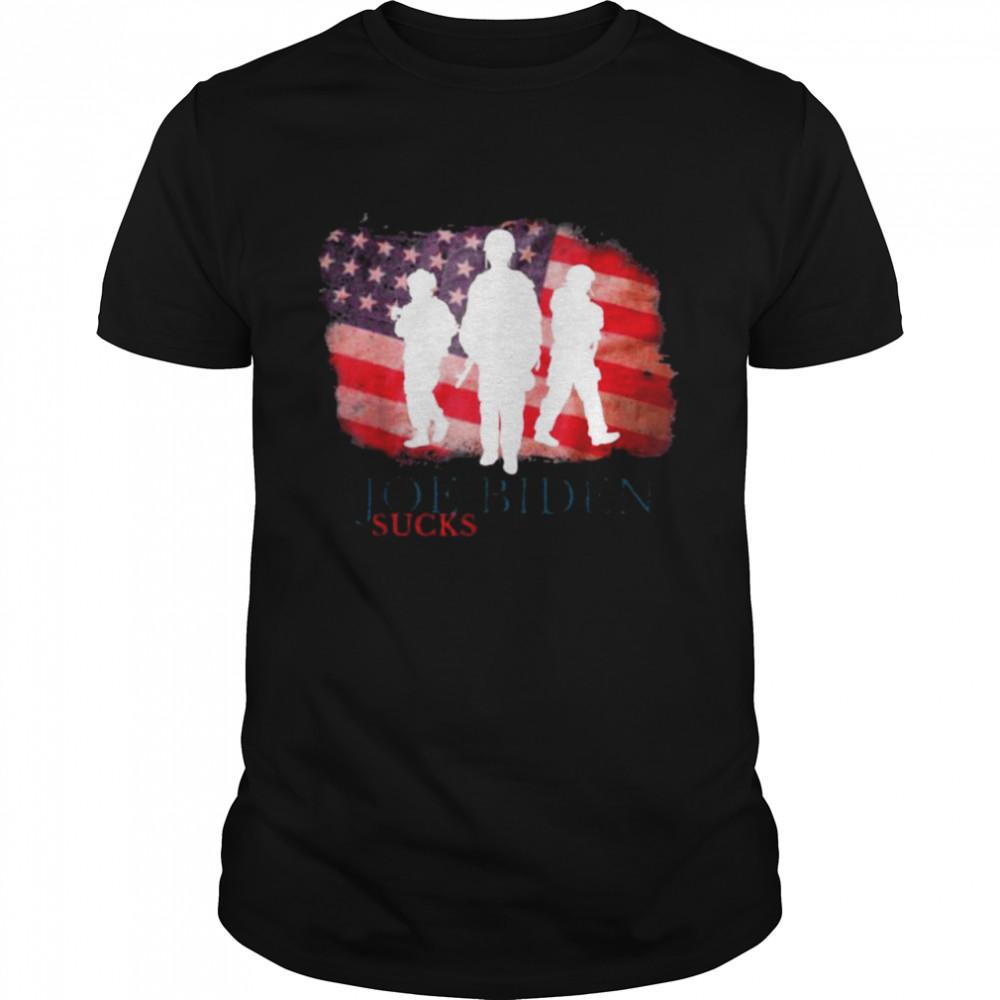 Joe Biden Suck American flag shirt