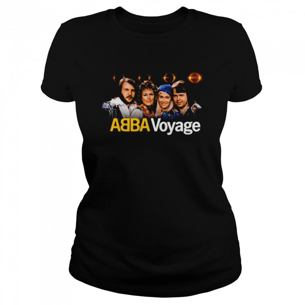 ABBA Voyage Abba 2021 Album Music T-shirt Classic Women's T-shirt