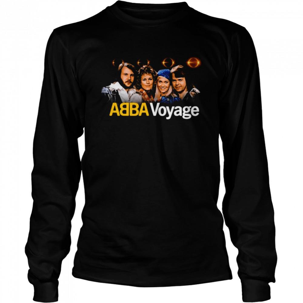 ABBA Voyage Abba 2021 Album Music T-shirt Long Sleeved T-shirt