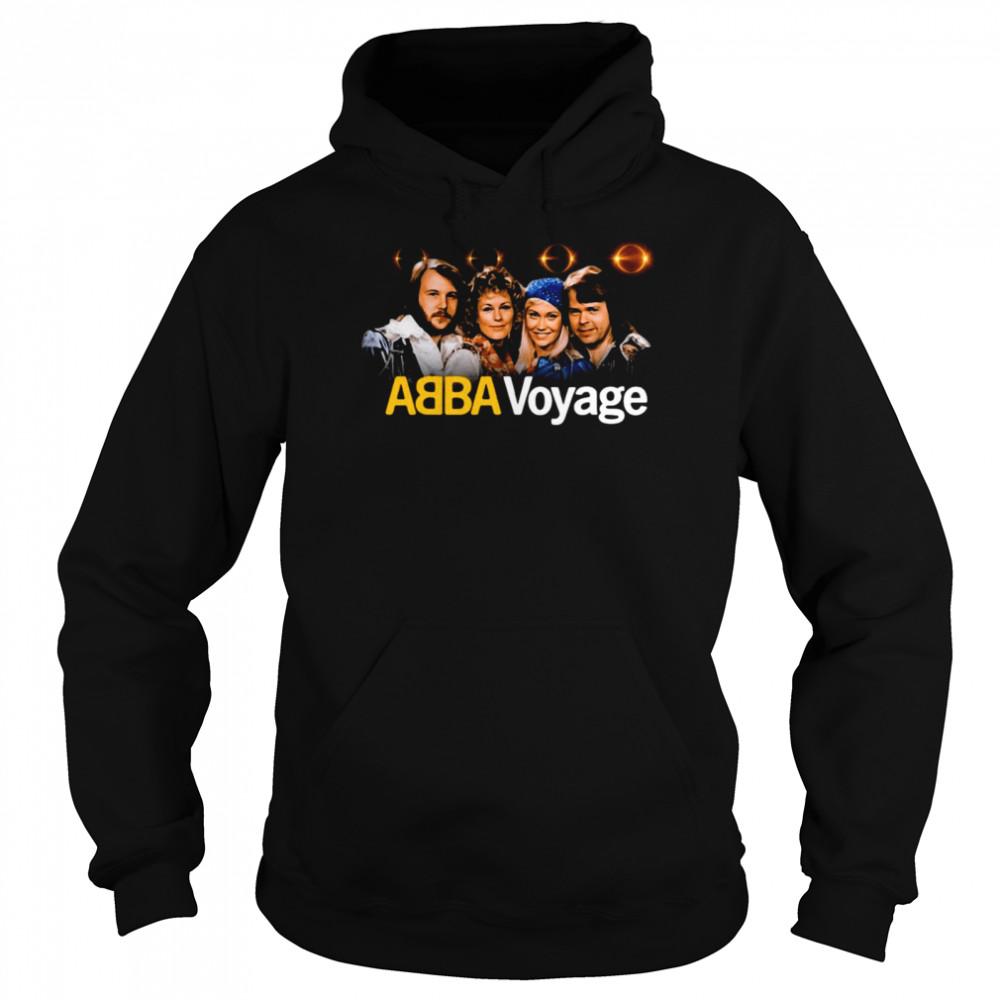 ABBA Voyage Abba 2021 Album Music T-shirt Unisex Hoodie
