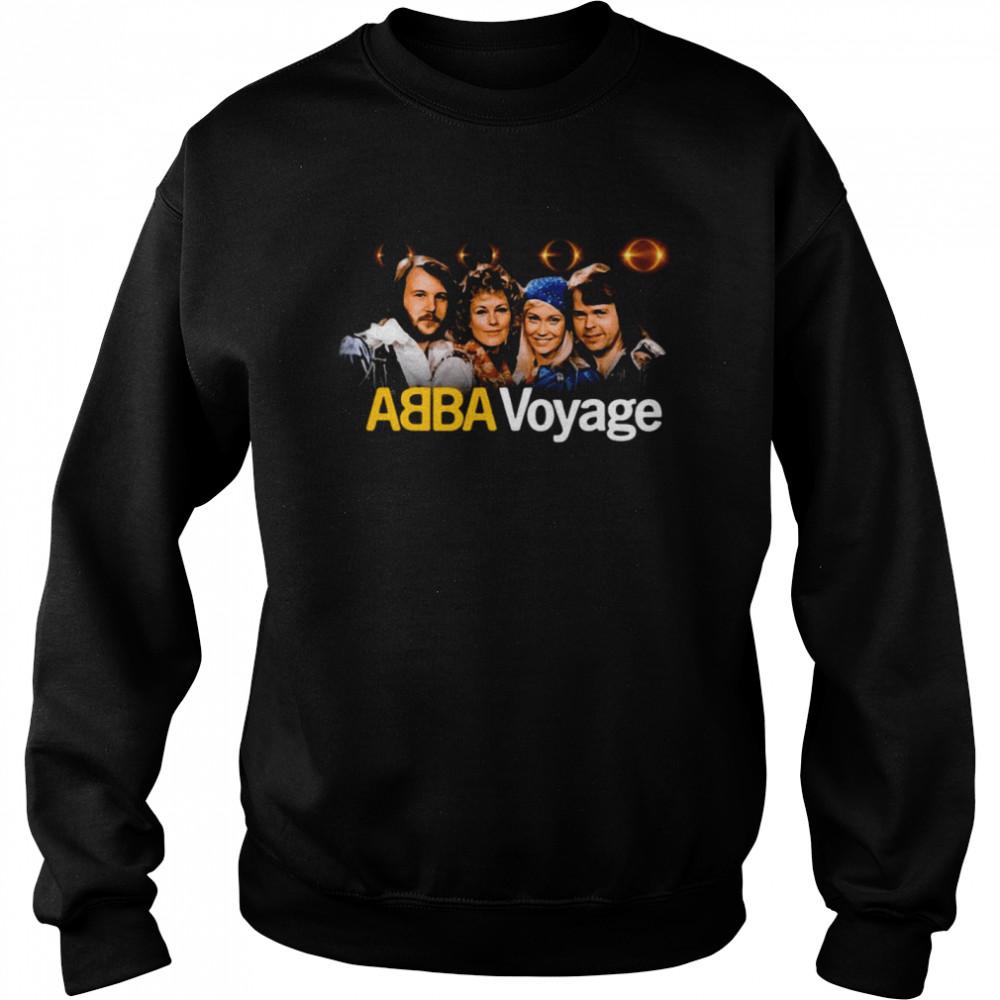 ABBA Voyage Abba 2021 Album Music T-shirt Unisex Sweatshirt