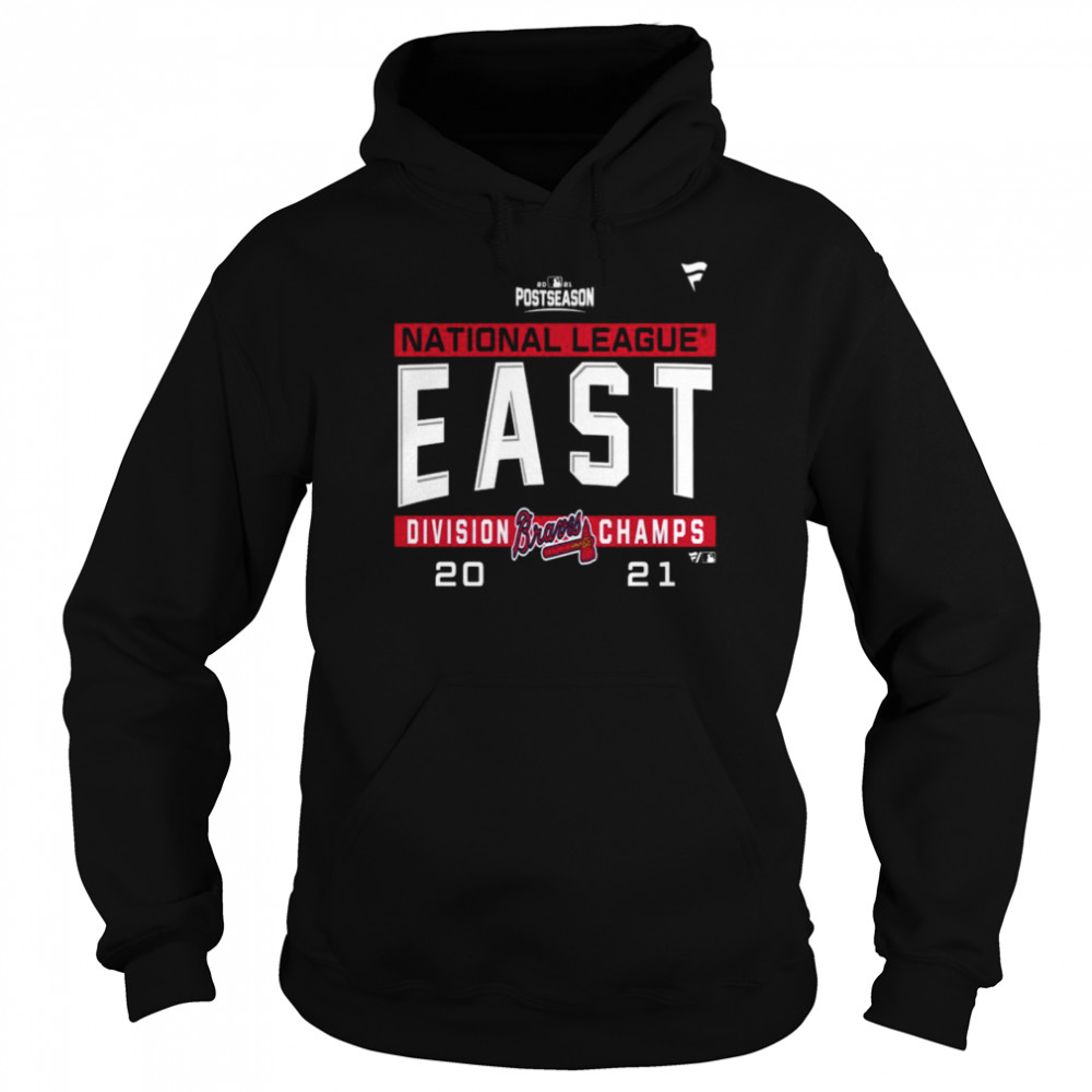 Atlanta Braves National League NL East Division Champions 2021 sport shirt Unisex Hoodie