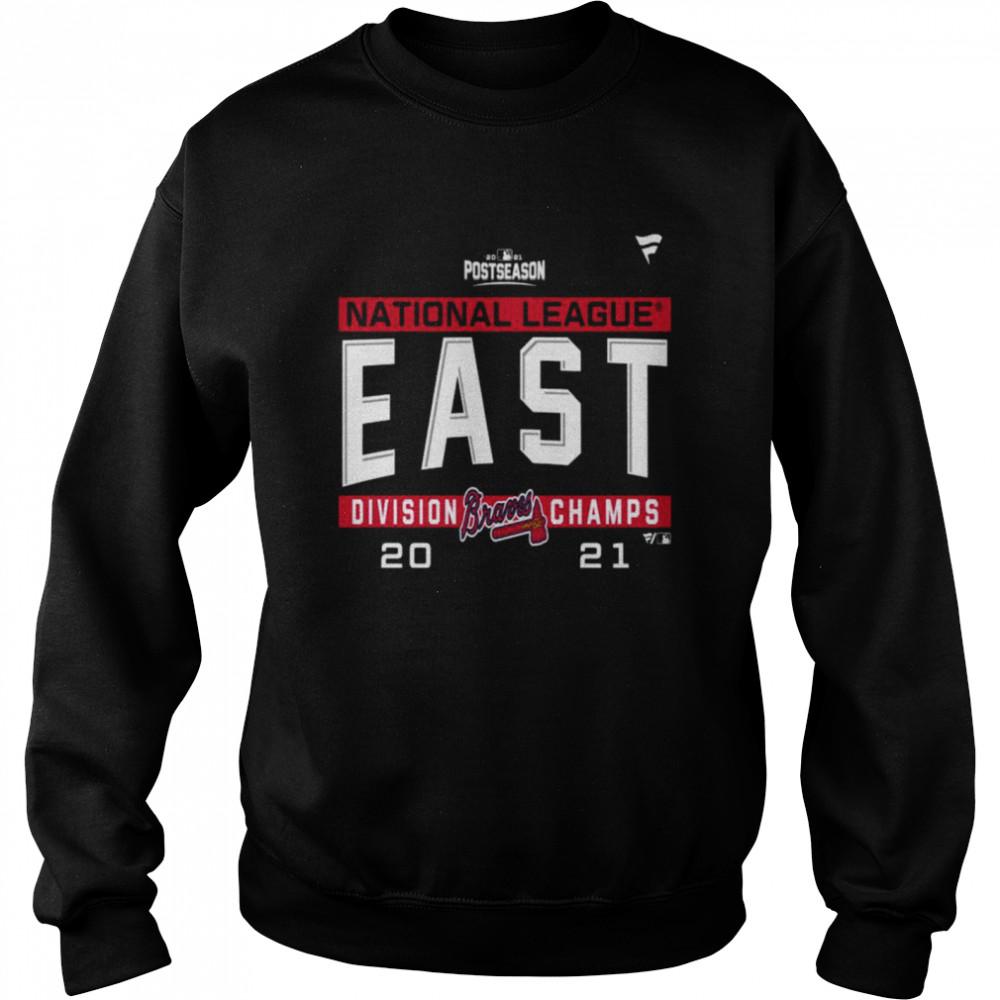 Atlanta Braves National League NL East Division Champions 2021 sport shirt Unisex Sweatshirt