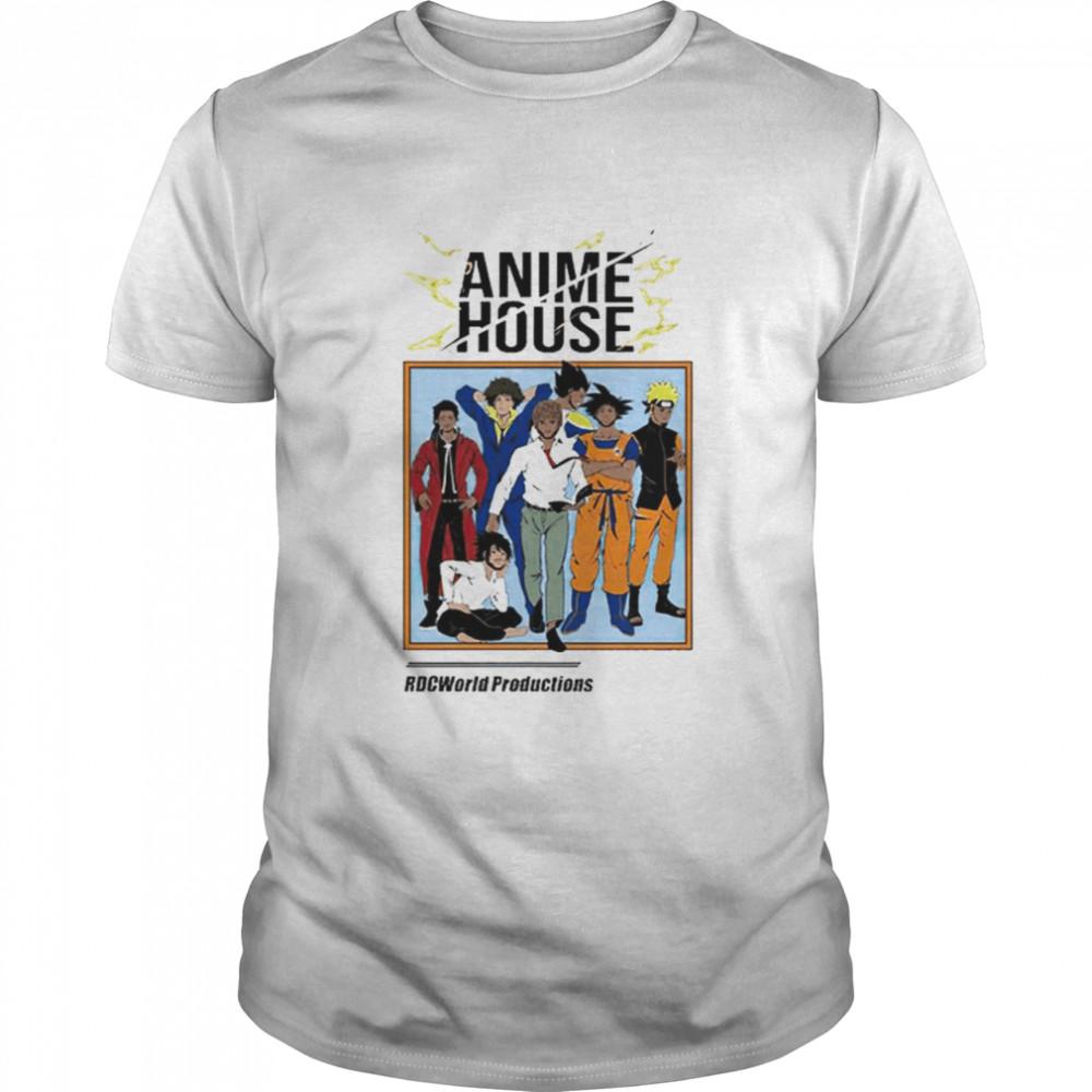 Anime house RDCworld productions T-shirt